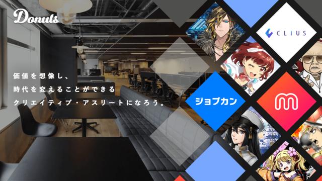 株式会社 Donuts/☆☆☆働き方改革!ジョブカンコンサルタントをお任せ♬☆☆☆