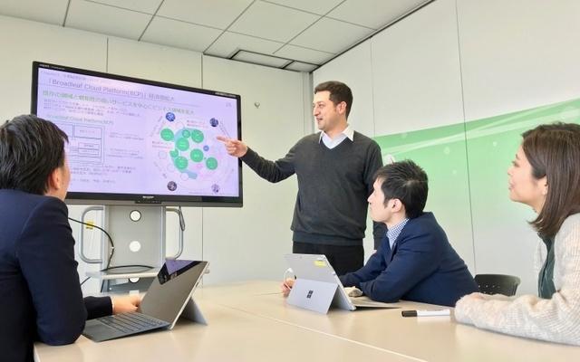 株式会社 ブロードリーフ/情報システム部 推進担当:自動車産業を支えるソフトウェアメーカー(トップシェア/東証一部)